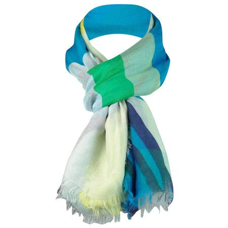 Collection XIIX Women's Face-to-Face Sheer Wrap Scarf Bubble Mint