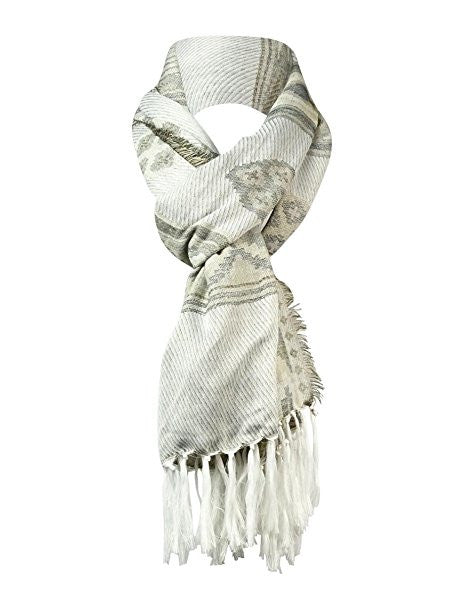 Collection XIIX Women's Ancient Stone Aztec Style Fashion Scarf