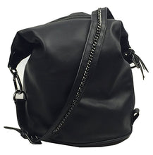 Dolce Vita Convertible Sling Backpack Hobo Black