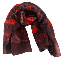 Echo Design Womens Paisley Lace Print Scarf