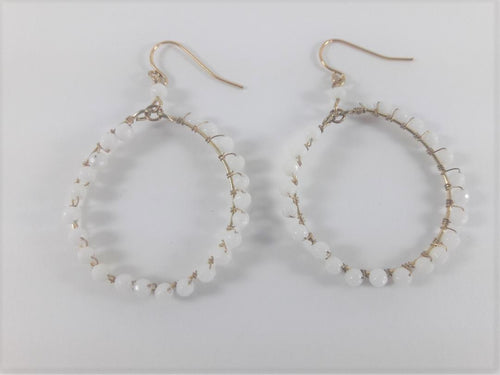 Ettika Wrapped Hoop Earrings