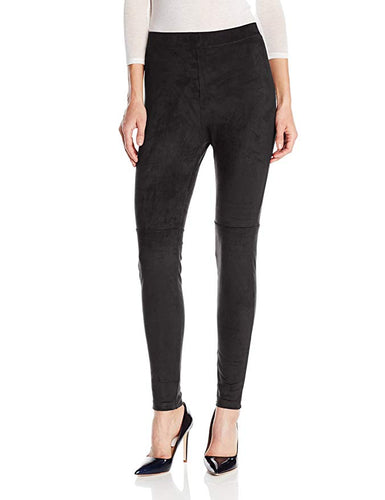 Hue Ultra Suede Leggings Black M