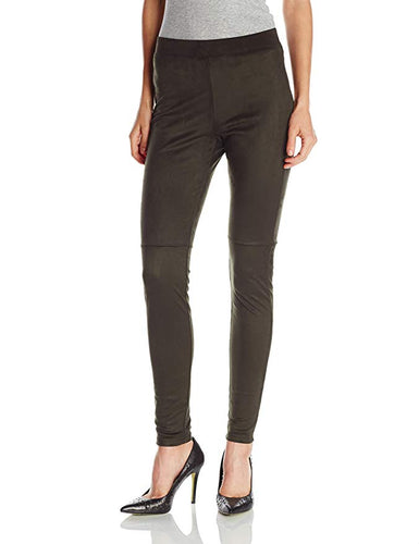 Hue Ultra Suede Leggings Dark Oliver S