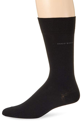 BOSS HUGO BOSS Men's Solid Dress Sock