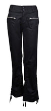 INC Deep Black Cropped Utility Zip-Pocket Pants  Regular Fit 2