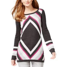 INC International Concepts Colorblocked Tunic Sweater Size Medium
