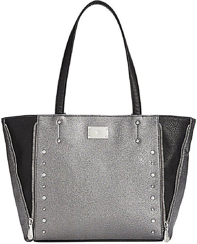 INC International Concepts Linde Tote Silver