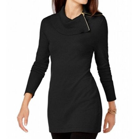 INC Women's Side-Zip Cowl-Neck Tunic Sweater Size XXLarge