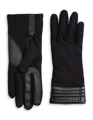 Isotoner Smartouch Texting Women's Stretch Gloves Black