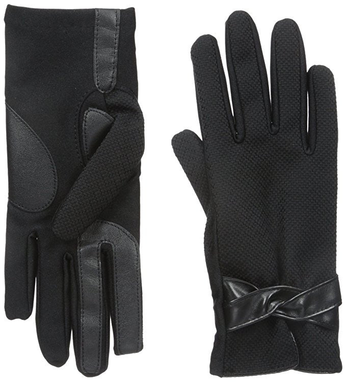 Isotoner Dobby Stretch SmarTouch Tech Gloves
