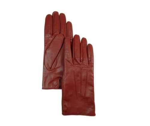 Isotoner Signature Women's Dress SmarTouch Gloves Red 8.5/9