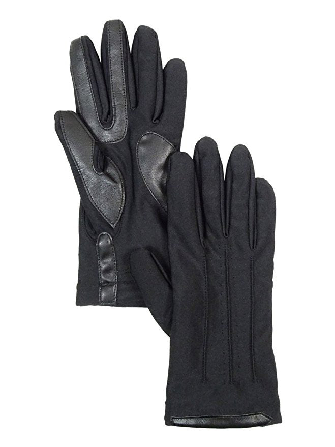 Isotoner Women's SmarTouch Spandex Gloves Black M/L