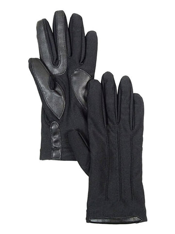 Isotoner Women's SmarTouch Boxed Spandex Gloves Black XS/SM