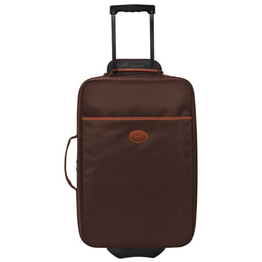 Longchamp Le Pliage Boarding Case with Wheels Chocolate