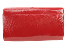 Marc Fisher Flap Clutch Red