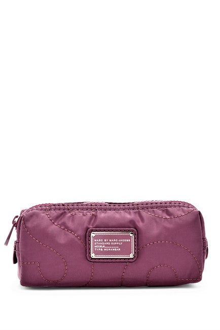 Marc by Marc Jacobs Pretty Nylon Narrow Cosmetic Bag Amethyst