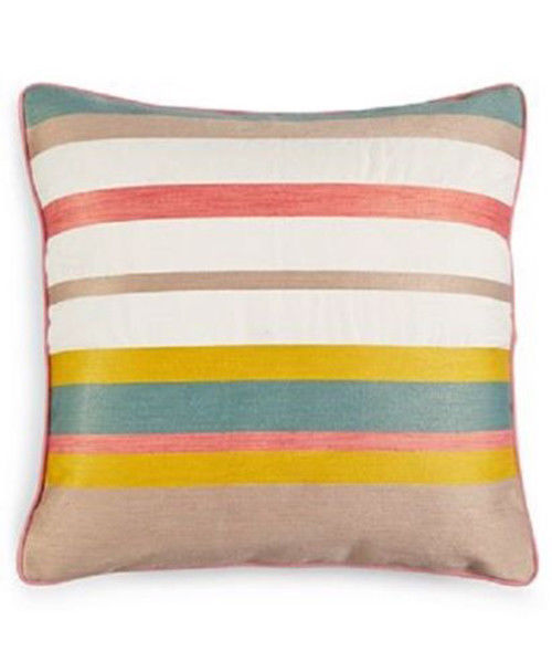 Martha Stewart Collection Butternut Stripe Decorative Pillow Simple Martha Stewart Collection Bedding Dogs Decorative Pillows