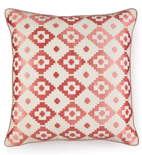 Martha Stewart Collection Red Rock Diamond Decorative Pillow