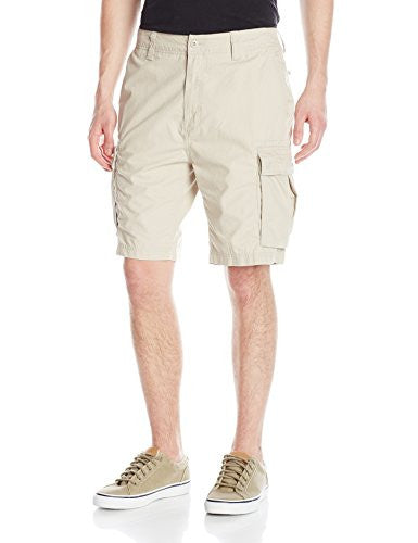 Nautica Men's Rip Stop Cargo Short True Stone 30W