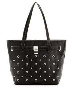 Nine West Eye Candy Large Tote Black