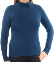 Planet Gold Juniors Pullover Turtleneck Navy Peony L