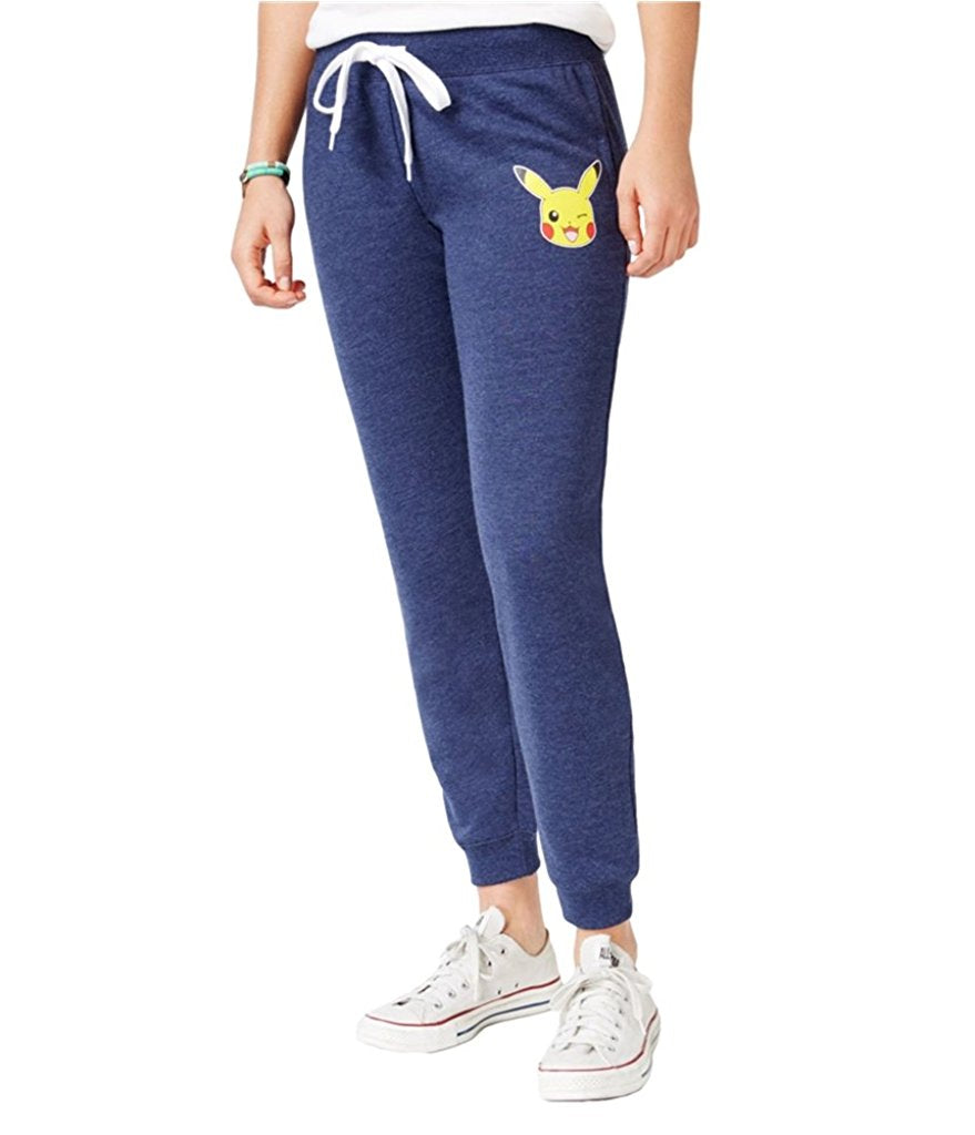 6bdb771956d2b Mighty Fine Juniors Pokeman Graphic Jogger Pants Heather Navy – Shoppers  Galore