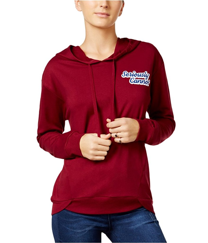 Rebellious One Juniors Seriously Cannot Hoodie Sweatshirt S