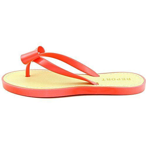 Report Jenski Synthetic Thong Sandal Coral Size 6M