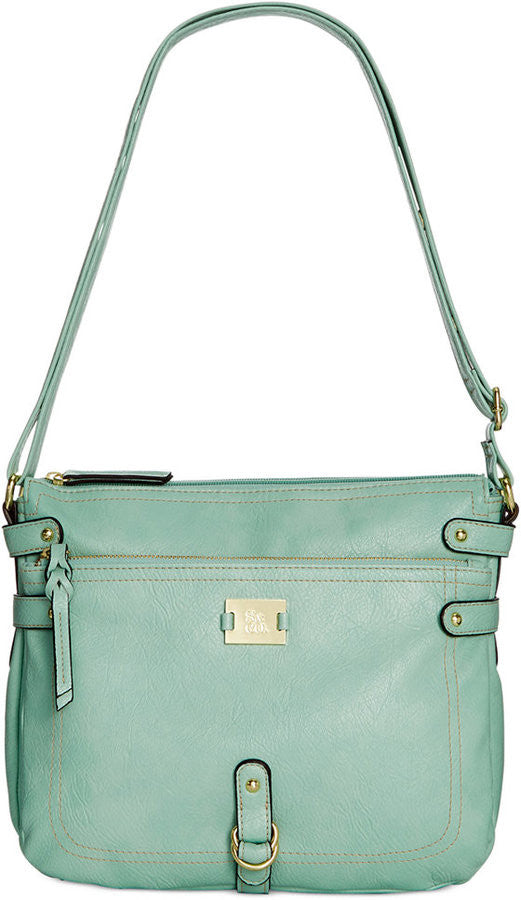 Style & Co. Precious Cargo Crossbody Mint