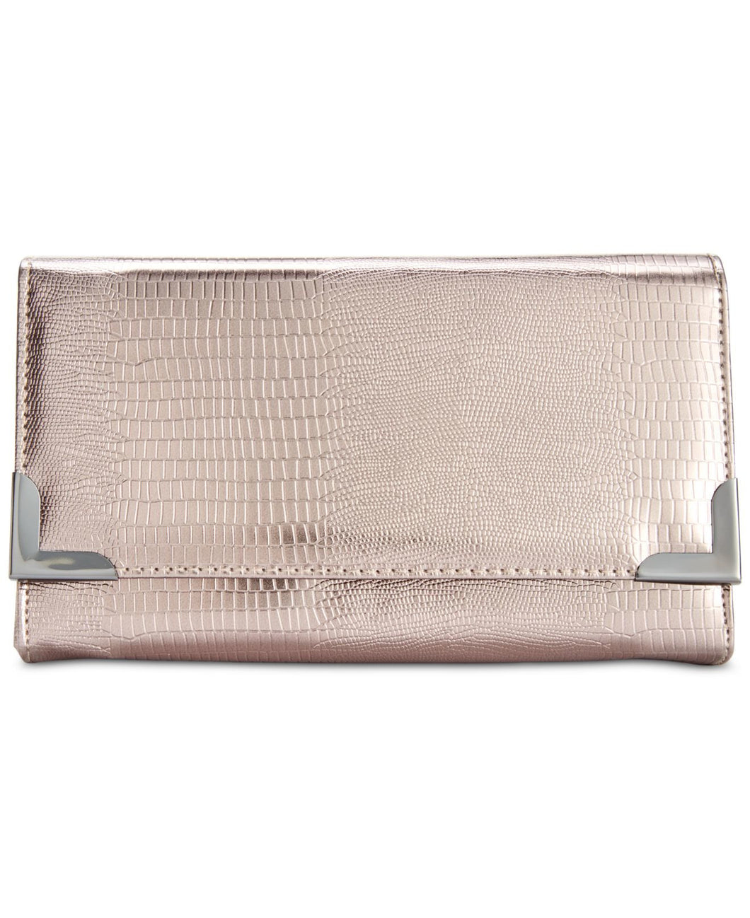 Style&co. Exotic Diane Clutch Pewter