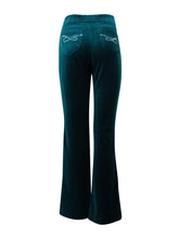 Style & Co. Sport Womens Velour Embellished Track Pants Size XLarge