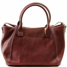 Steve Madden Bessiee Shoulder Satchel Burgundy