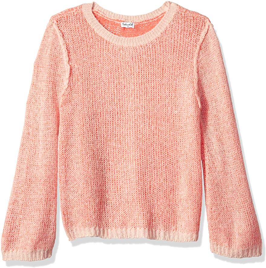 Splendid Girls' Two-Tone Sweater
