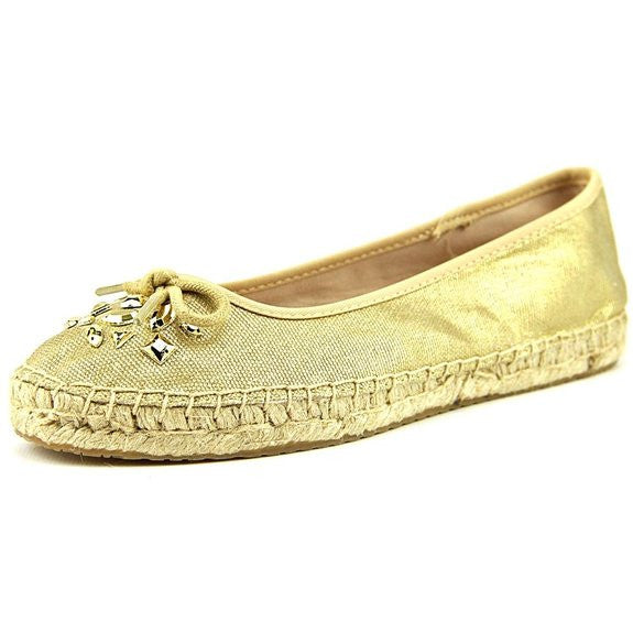 Style&co Valorr Canvas Flats Gold Size 8M