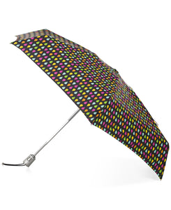Totes SunGuard Auto Open Close Compact Umbrella with NeverWet