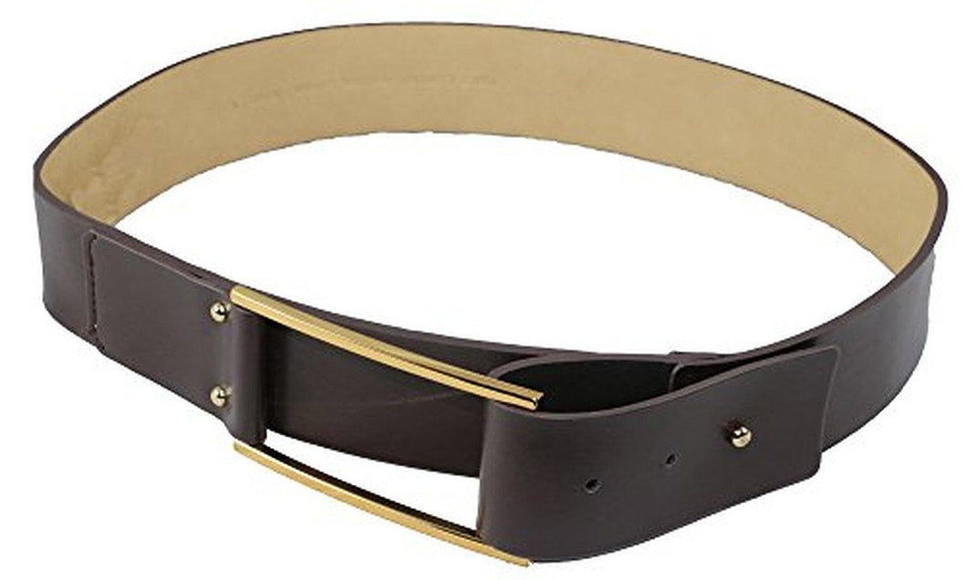 Vince Camuto Leather Belt With Pullback Buckle 2
