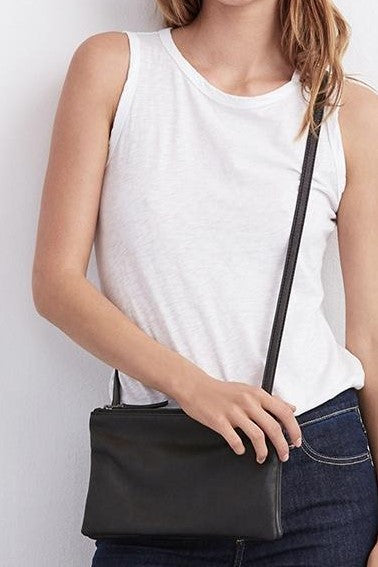 Velvet by Graham and Spencer Evelyn Crossbody Leather Bag