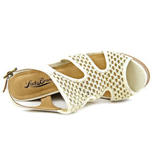 Lucky Brand Remyy Wedge Sandal Natural Combo Size 10M