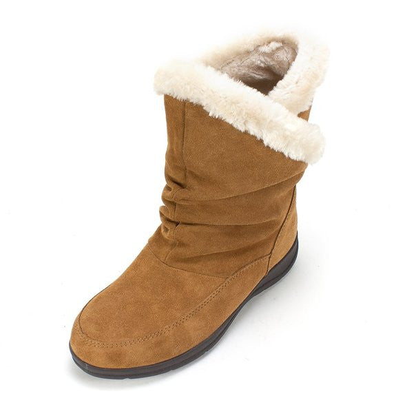 White Mountain Traffic Bootie Chestnut Size 6.5M