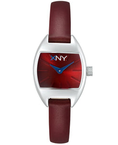 XNY Watch Women's Urban Glam Leather Strap 22mm BV8077X1
