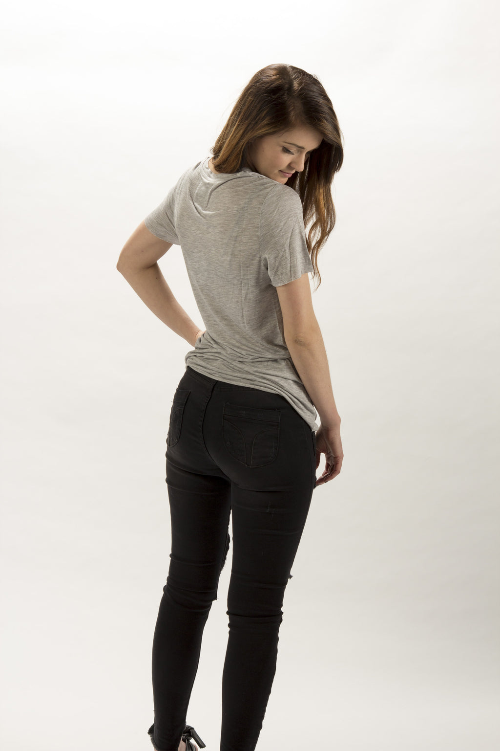 Zoe Karssen | Loose Grey Fit Tee