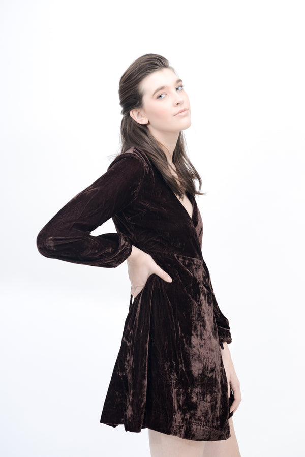 byTiMo | Velvet Wrap Dress