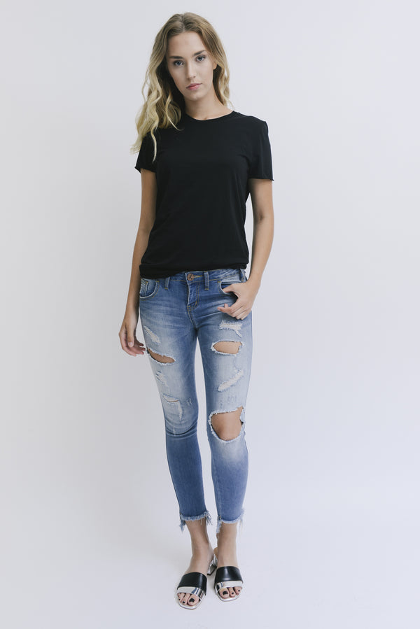 Zoe Karssen | Loose Fit Black Tee
