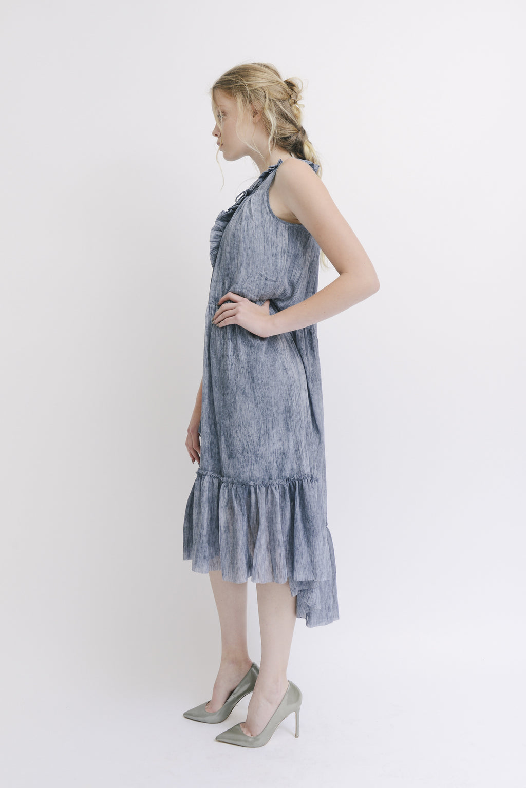 Moon River | Ruffle Dress