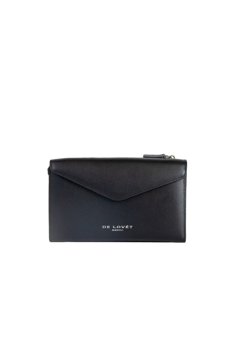Trio Leather Wallet - Black (BACK IN STOCK)