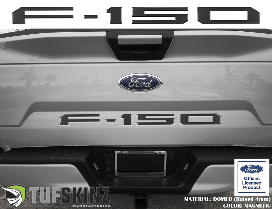 """F-150"" Tailgate Letter Inserts Fits 2018-2020 Ford F-150"
