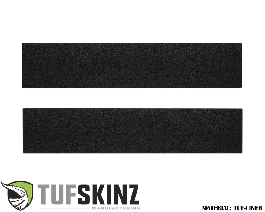 TUF-LINER Door Protection(Front Doors) Accent Trim Fits 2017-2020 Ford Super Duty Black