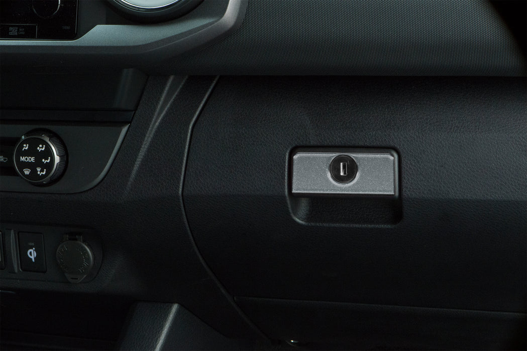Glove Box Handle Accent Trim Fits 2016-2021 Toyota Tacoma