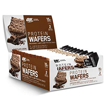 Optimum Nutrition Protein Wafers (9 Bars/box)