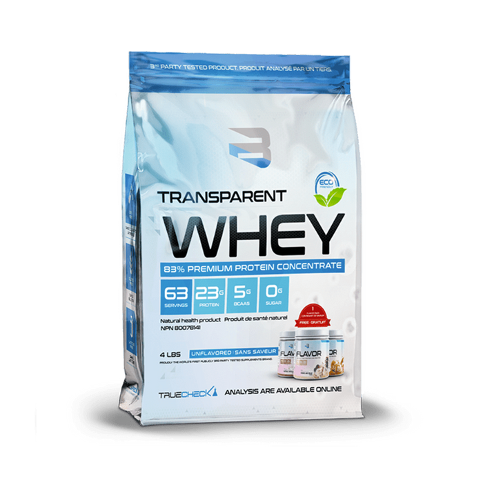 BELIEVE Transparent Whey (4lbs)